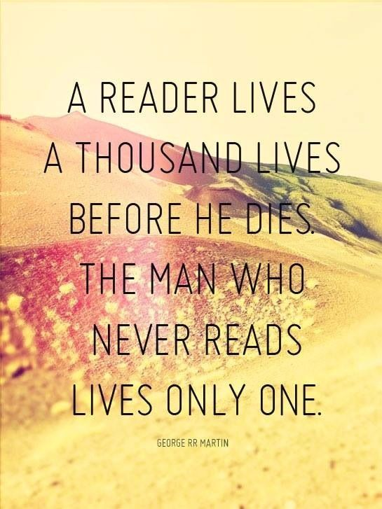 reader lives many lives
